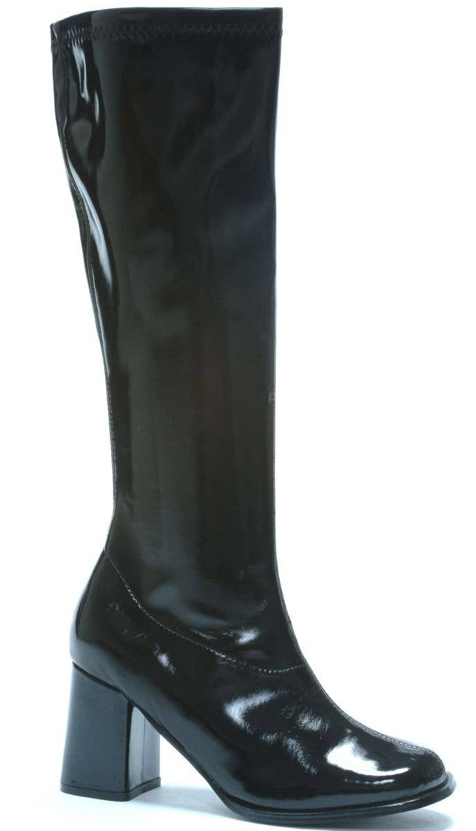 143391d967e Women s Black Go Go Boots High Heel Platform Heel Shoes 60 s Retro Costume  Boots Main Image