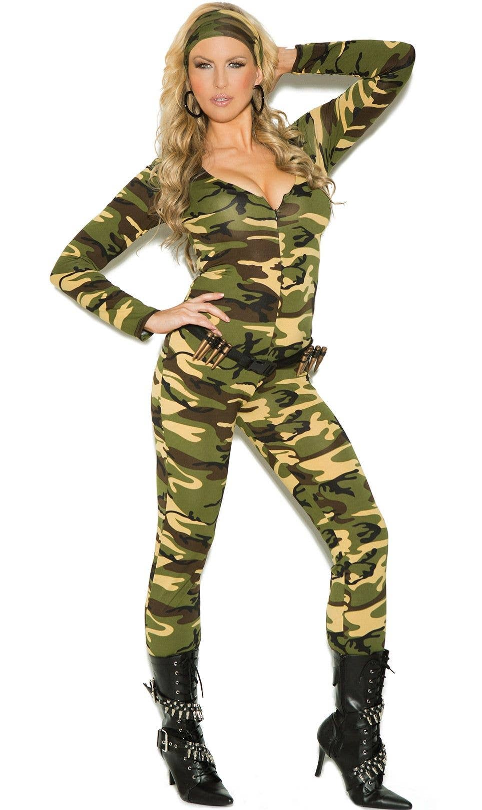 f308db9cc60 Army Combat Warrior Plus Size Women's Costume