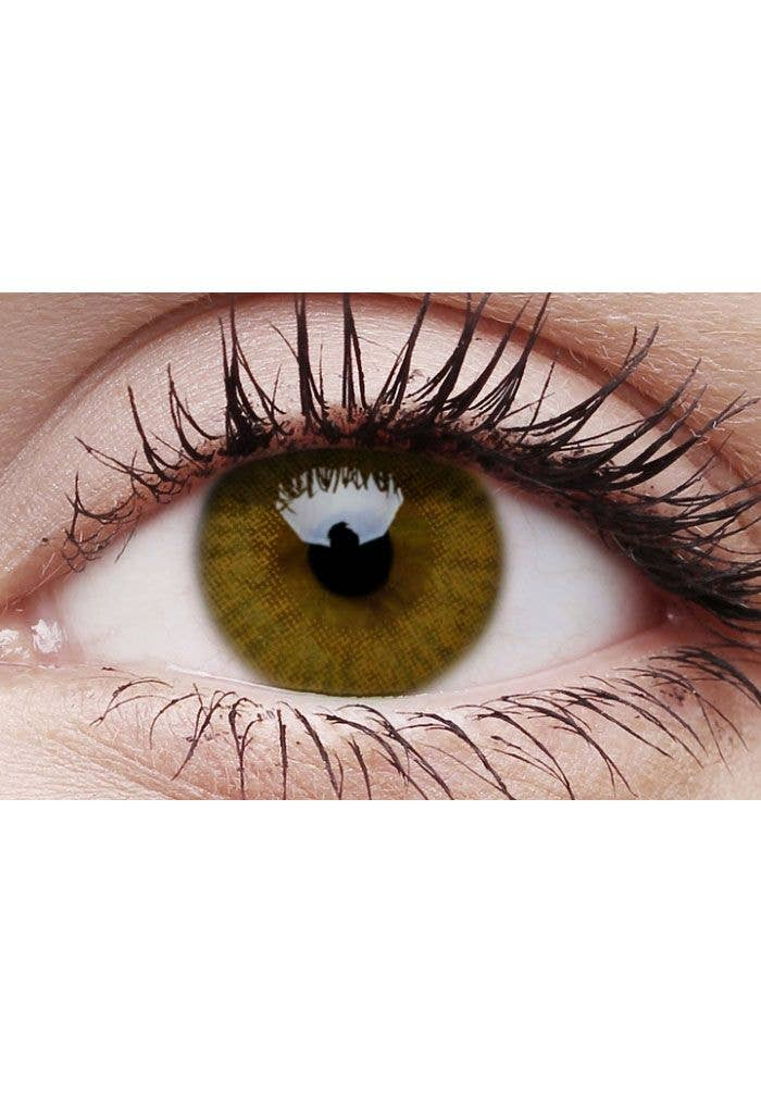 basic honey cosmetic contact lenses golden brown coloured contacts