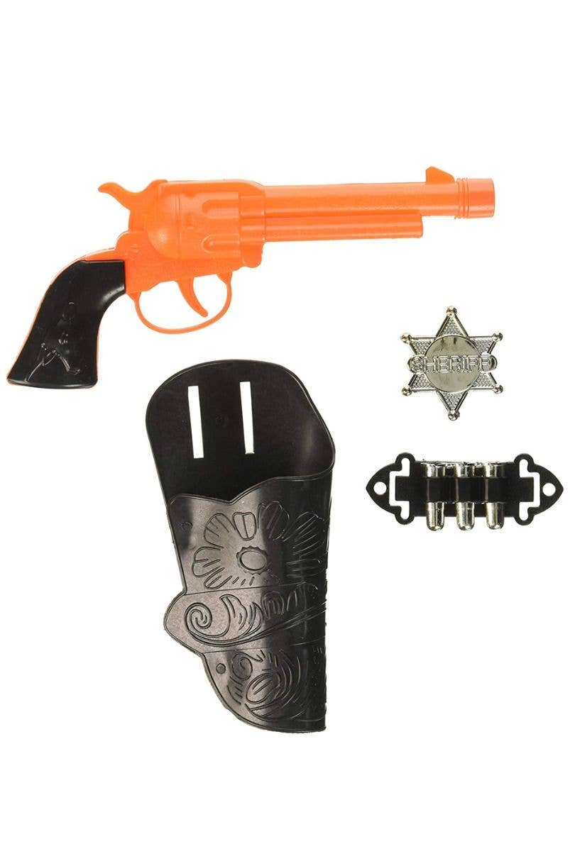 Wild West Cowboy Gun and Holster Costume Accessory Set