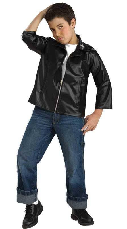 50\u0027s Greaser Boys Costume Jacket