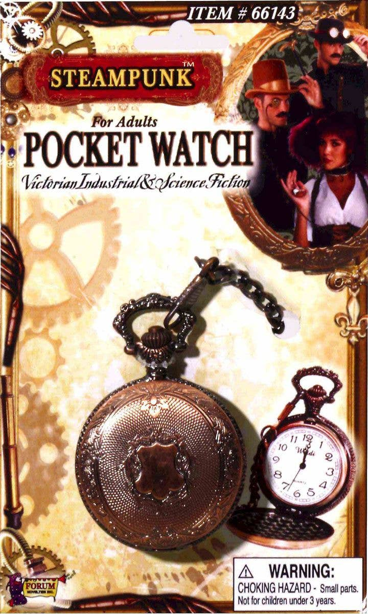 More Views of Ste&unk Pocket Watch & Steampunk Pocket Watch Costume Accessory | Steampunk Pocket Watch