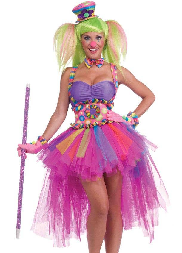 Sexy clown costume women