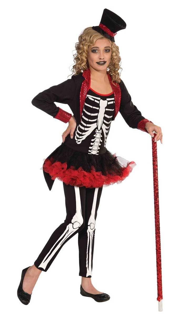 Skeleton Girls Halloween Costume - Day of The Dead Girls Costume