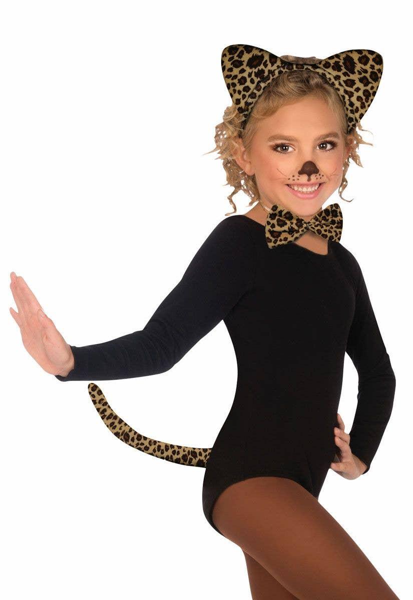 15784b3fafe8 Cute Leopard Girls Costume Kit | Jungle Leopard Accessory Set