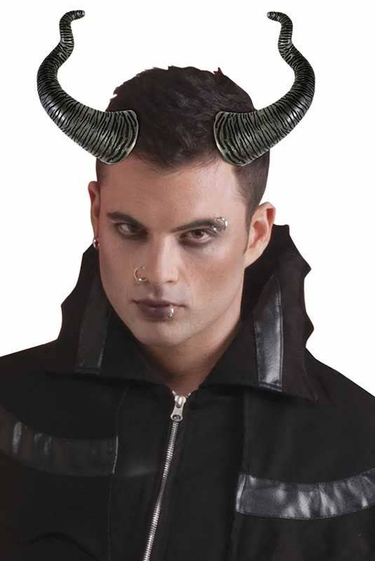 Wicked Horns Deluxe Demon Accessory