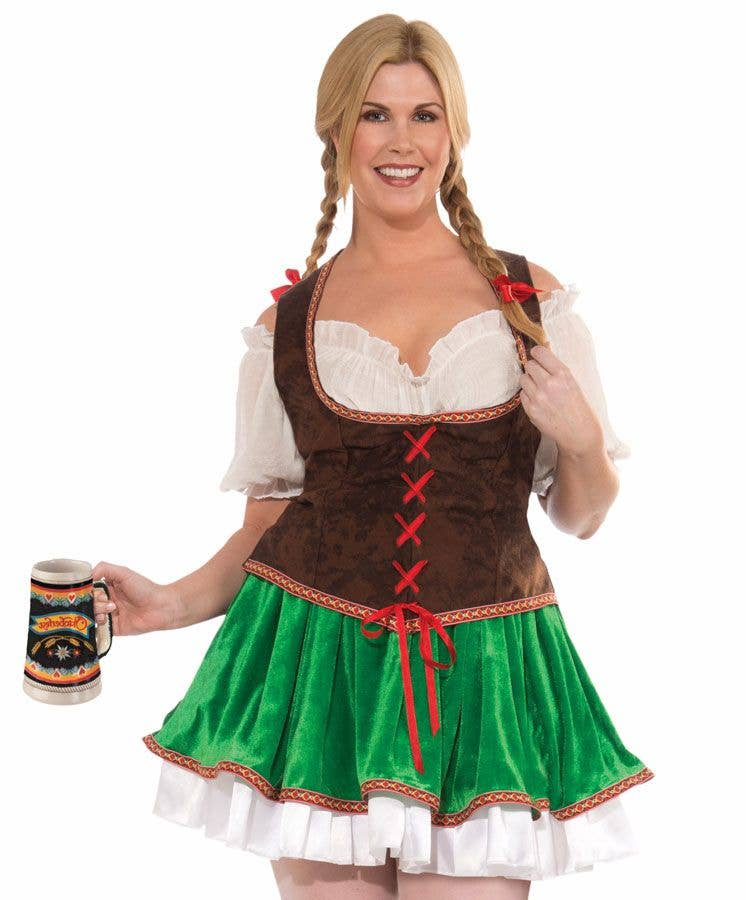 258c47b5cb More Views of Plus Size St Patrick s Day Costume