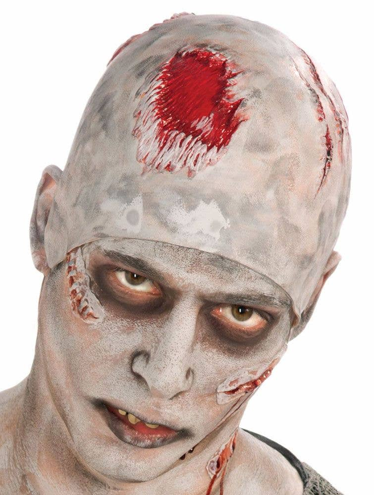 more views of zombie costume accessory