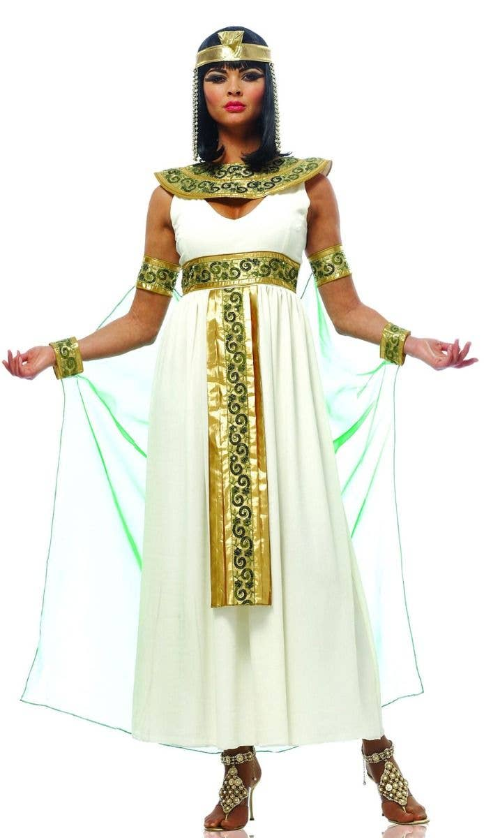 ee82c24d919dd Women s Egyptian Queen Cleopatra Fancy Dress Costume Main Image