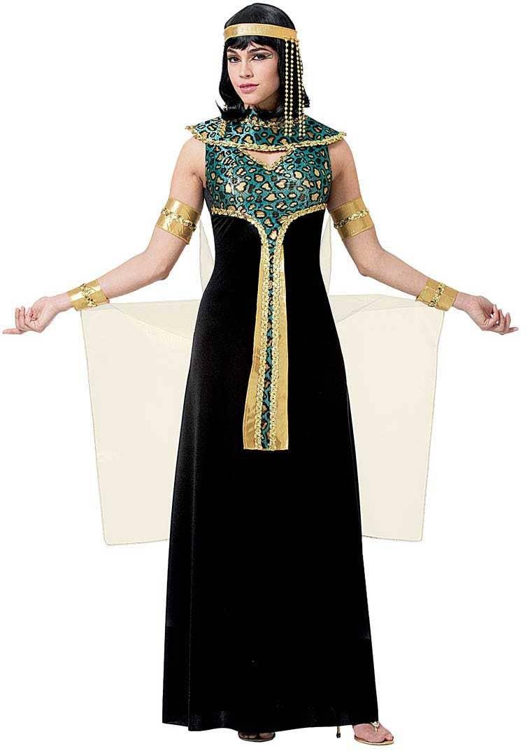 Glamorous Womenu0027s Egyptian Cleopatra Costume Main Image