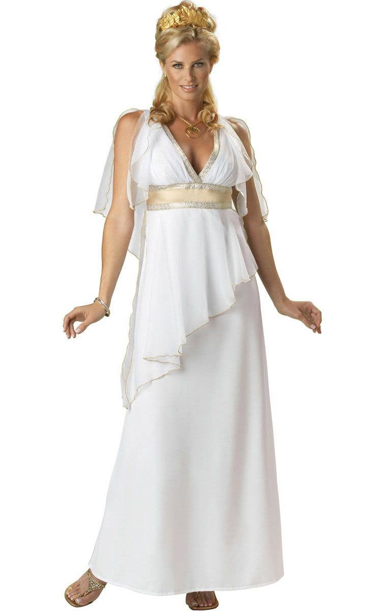 7b42ce2a8 Deluxe Greek Goddess Costume | Women's Roman Goddess Costume