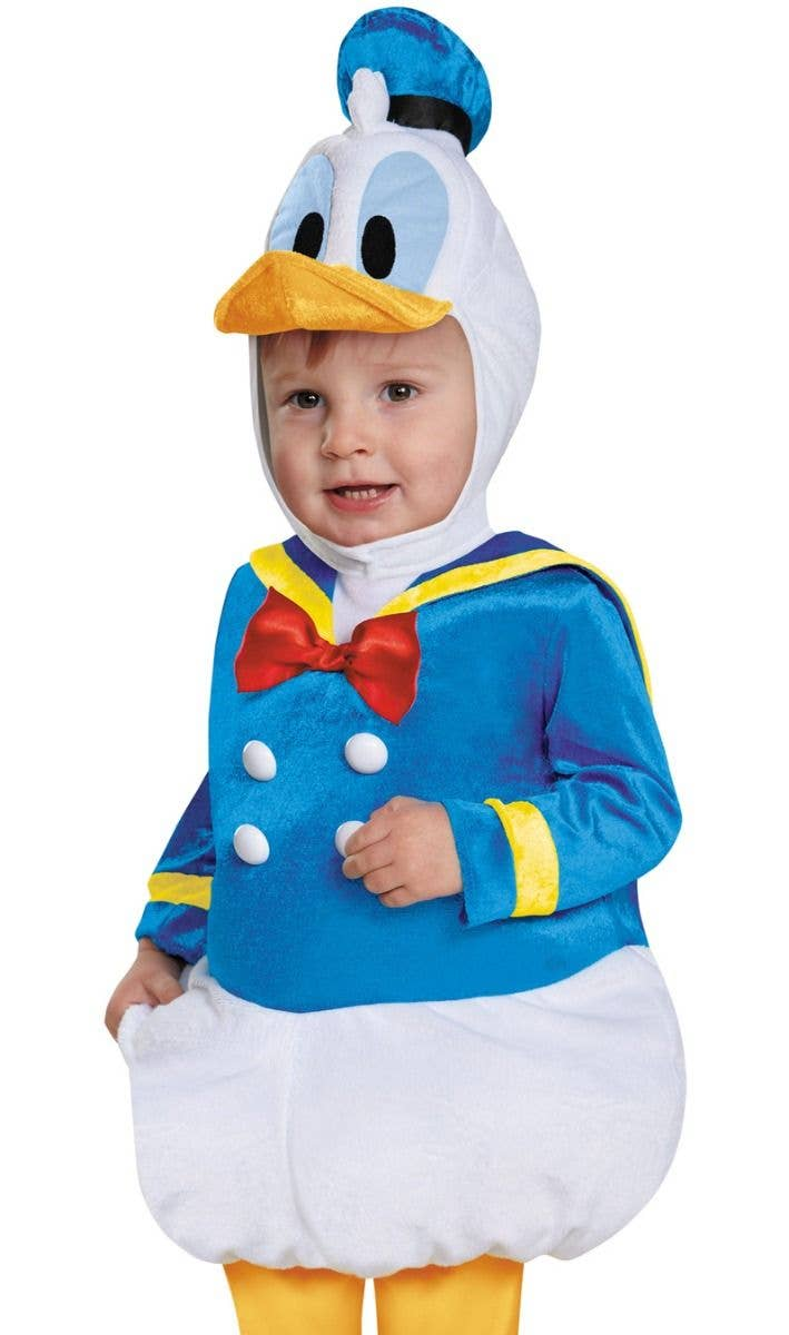 7770e2943 Donald Duck Disney Baby Boy's Infant And Toddler Mickey Mouse Fancy Dress  Costume Close Up Image