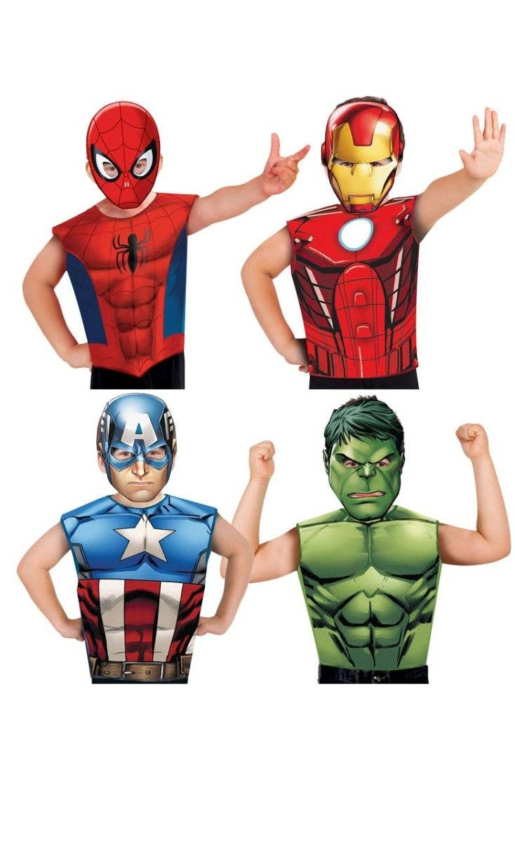 bc9ccebbdde7 Avengers Assemble Party Time Kids Dress Up Set - Character Choice