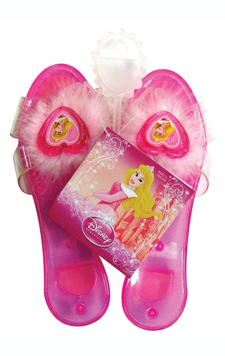 c67cee870c6911 Girl s Disney Princess Sleeping Beauty pink fancy dress costume shoes