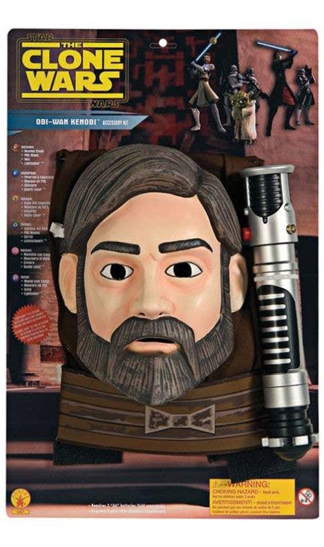 Boys Jedi Knight Costume Kit Obi Wan Kenobi Star Wars