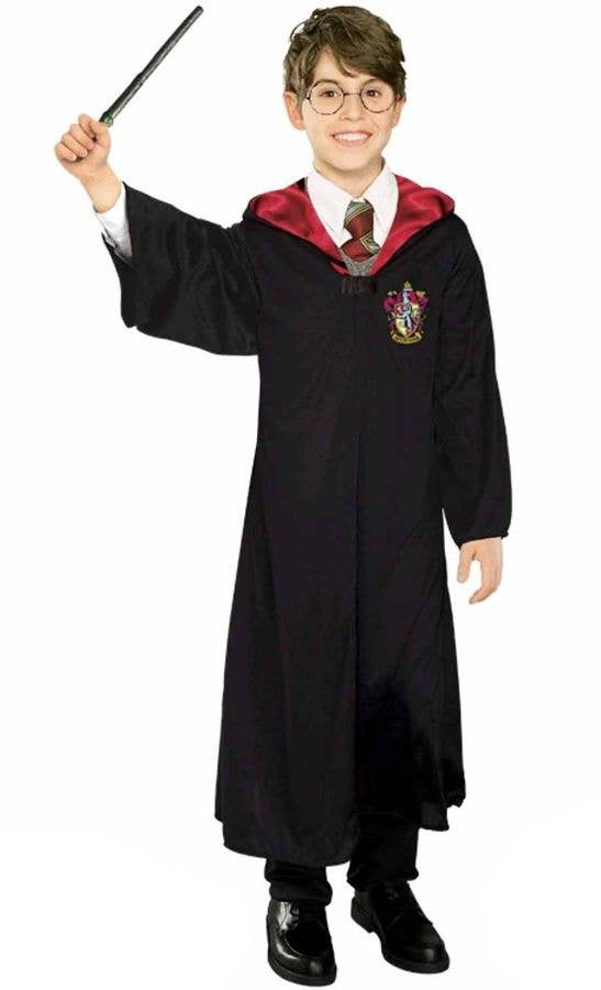 7a8f4c37bbf2a Children's Harry Potter Robe and Wand   Gryffindor Robe For Kids