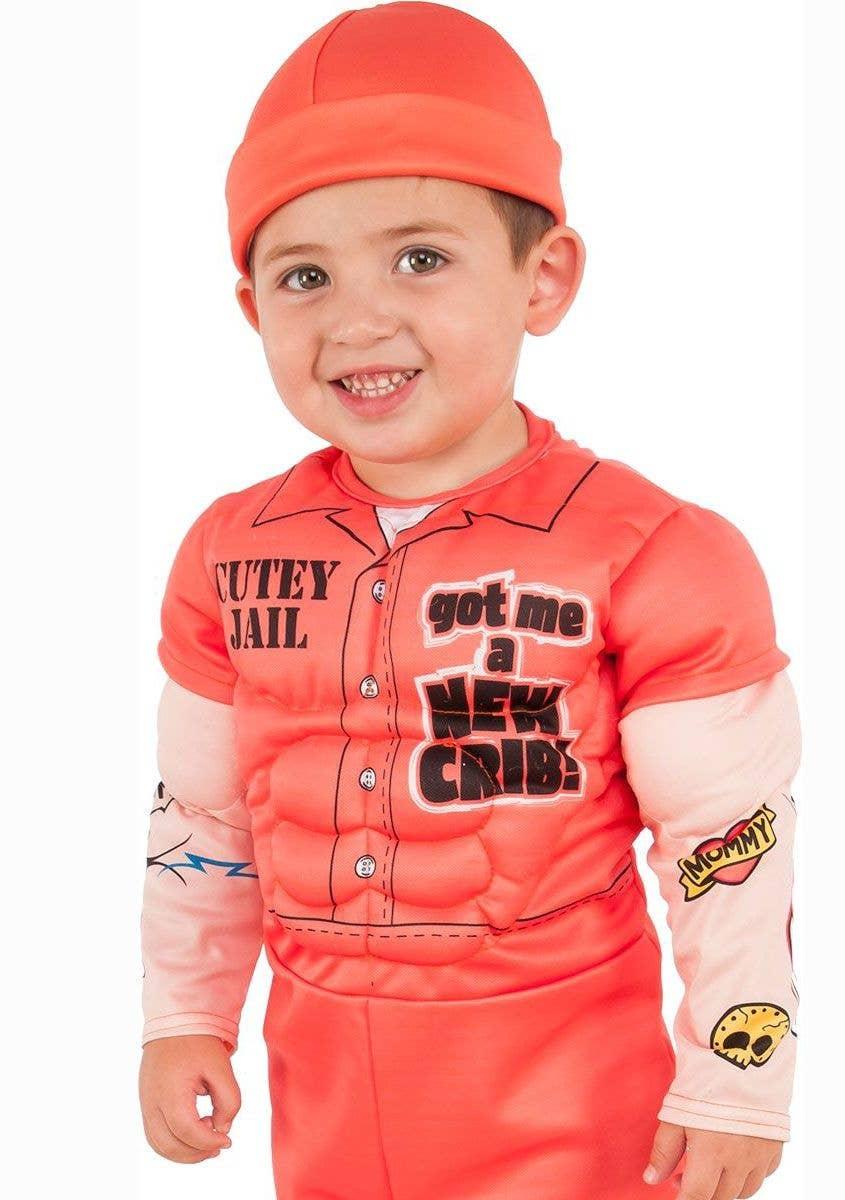c42078f17 Orange Prisoner Boys Costume