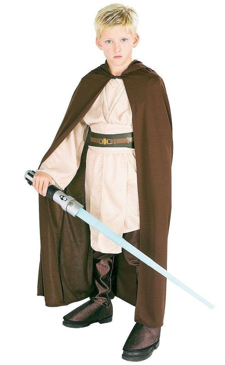 Star Wars Boys Brown Jedi Robe Costume Accessory