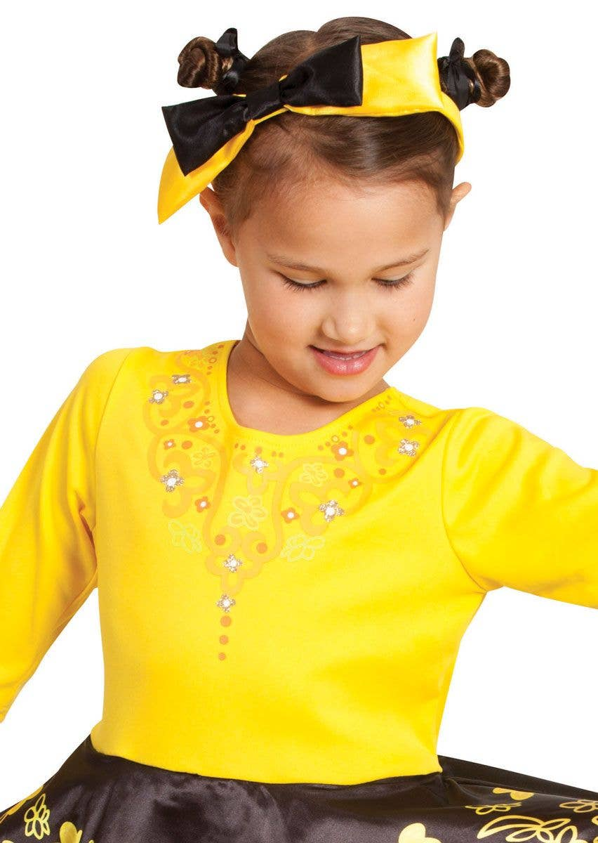 The Wiggles - Girls Yellow Emma Wiggle Ballerina Costume