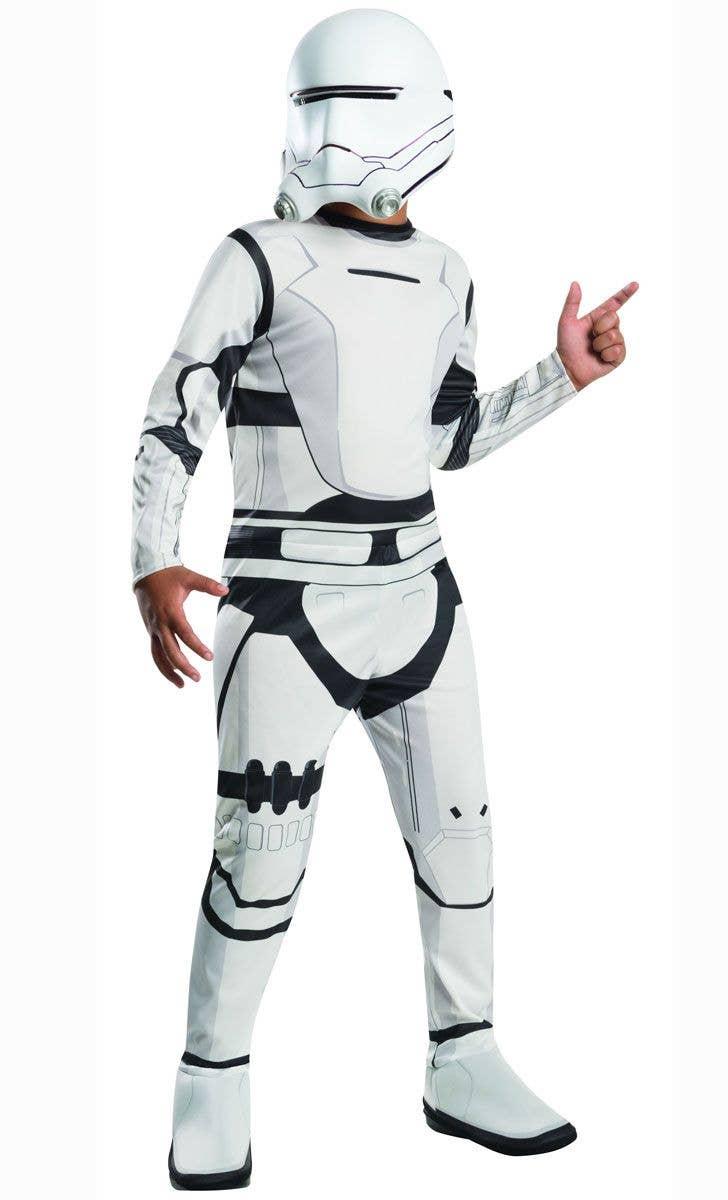 Stormtrooper Boys Flame Trooper Costume Kids Star Wars Costume