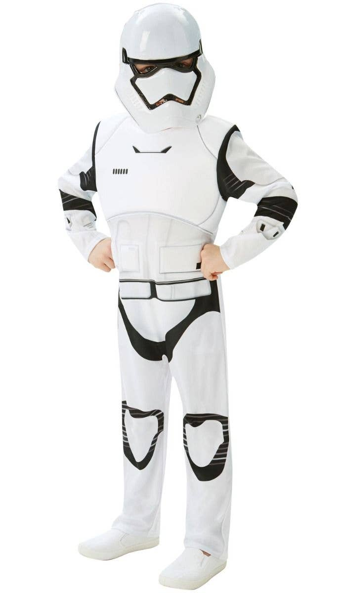Child STORMTROOPER Fancy Dress Costume Boys Star Wars Official Book Week Outfit