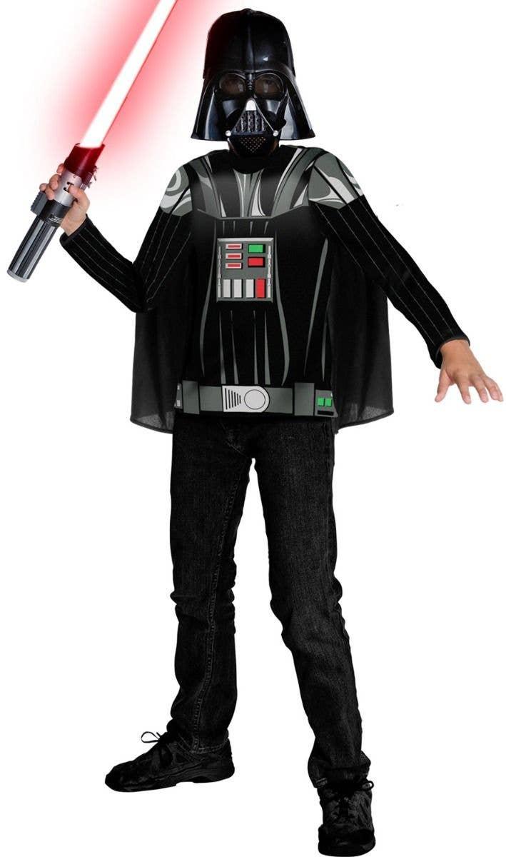 856441d9b Kid's Darth Vader Sith Lord Costume Kit | Boys Star Wars Costume Kit