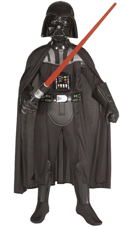 3ab0fd178 Kid's Darth Vader Sith Lord Costume | Star Wars Boy's Fancy Dress ...