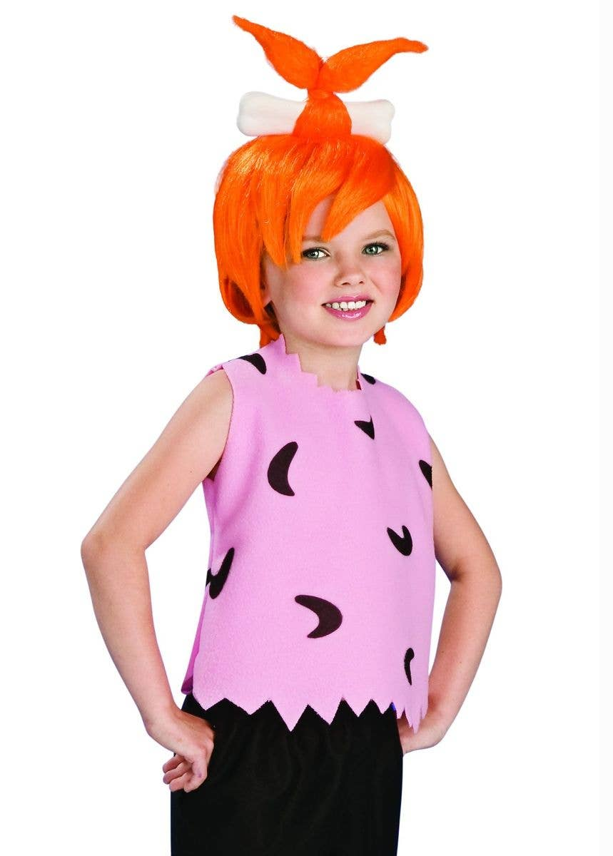 Pebbles Flintstone Deluxe Girls Fancy Dress Costume Alternate Image 606e71c62419