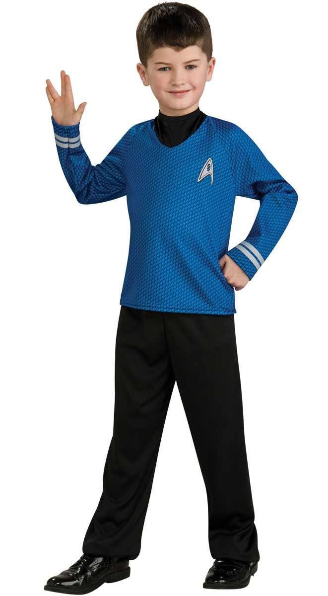 Kids Star Trek Spock Fancy Dress Costume  sc 1 st  Heaven Costumes & Kids Spock Star Trek Costume   Star Trek Boys Mr Spock Costume