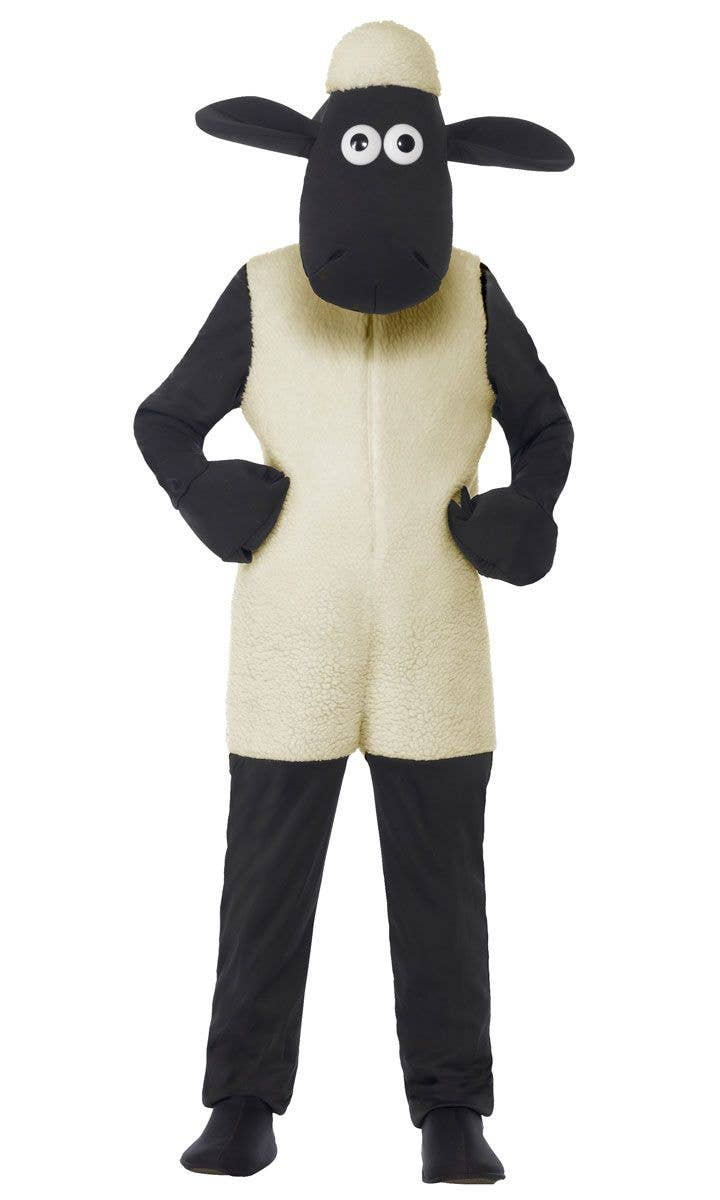 Shaun The Sheep Boys Costume Kids White Sheep Book Week