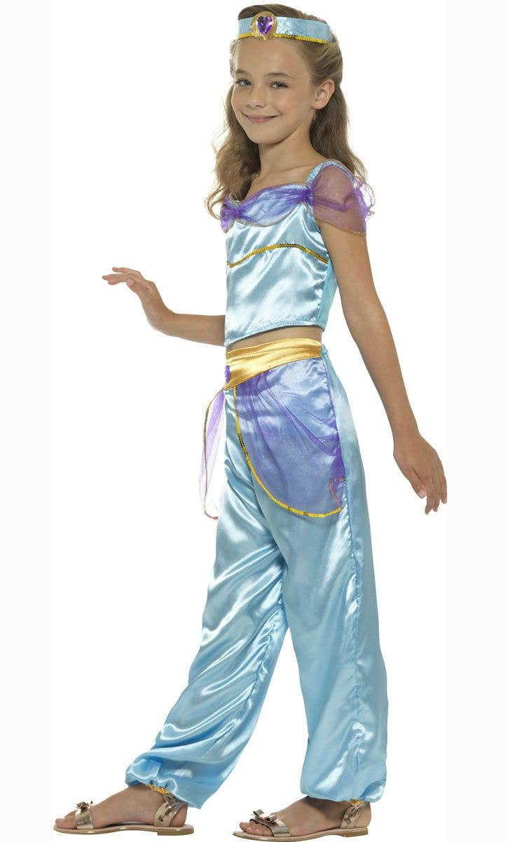 ... Princess Jasmine Girls Arabian Book Week Costume Alternate Image  sc 1 st  Heaven Costumes & Girls Princess Jasmine Costume | Disney Princess Book Week Costume