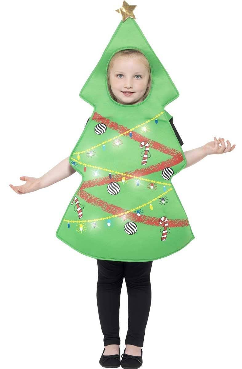 Festive Christmas Tree Kids Costume Kids Christmas Tree Costume
