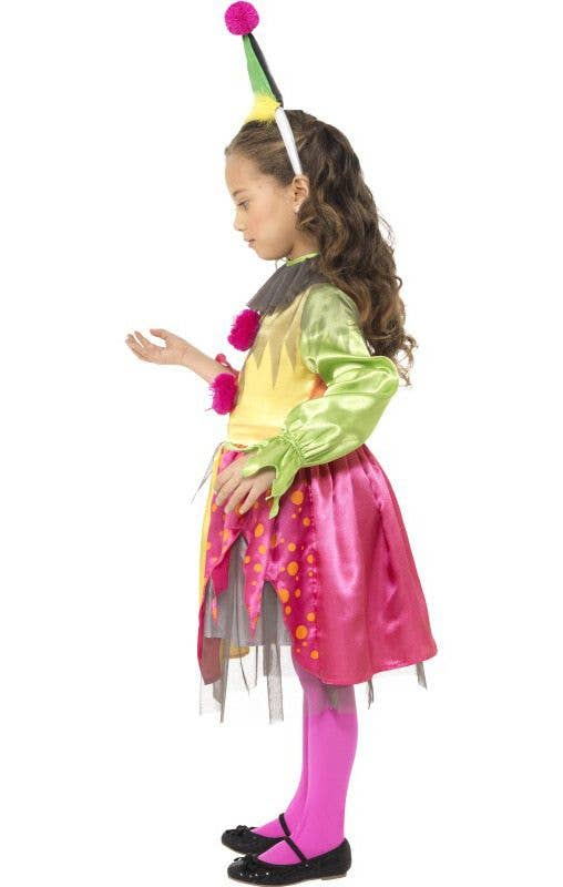 Halloween Costumes For Girls Scary.Scary Clown Girls Halloween Costume