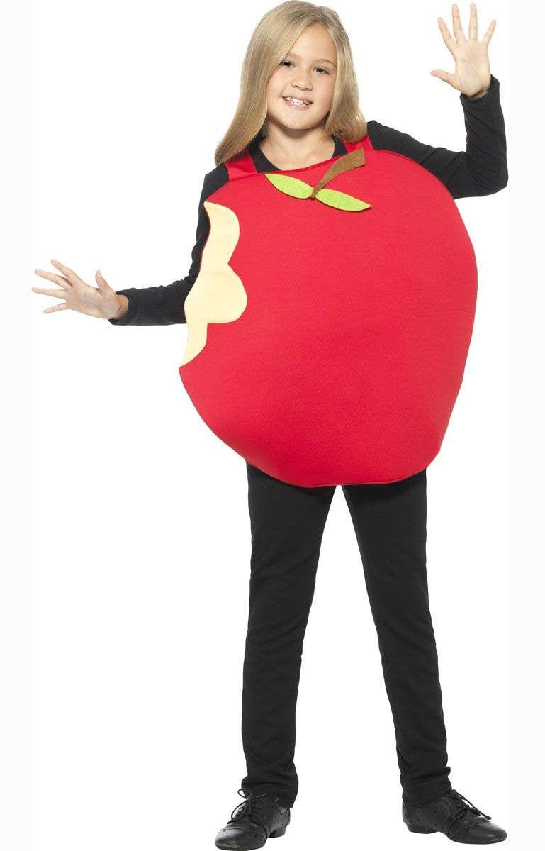 red apple kids fancy dress costume | kids apple book week costume