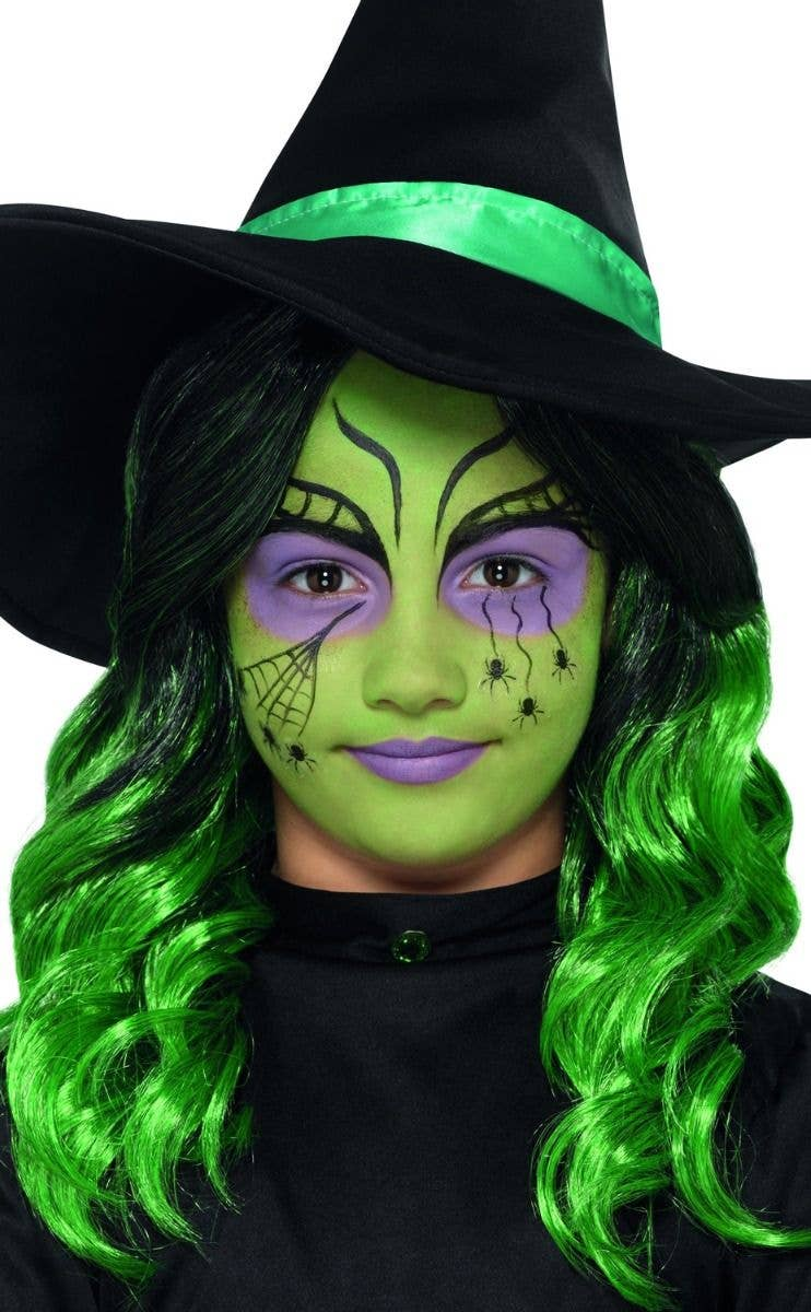 f15dbcdb1 Girls Green Wicked Witch Makeup Kit | HALLOWEEN ACCESSORIES