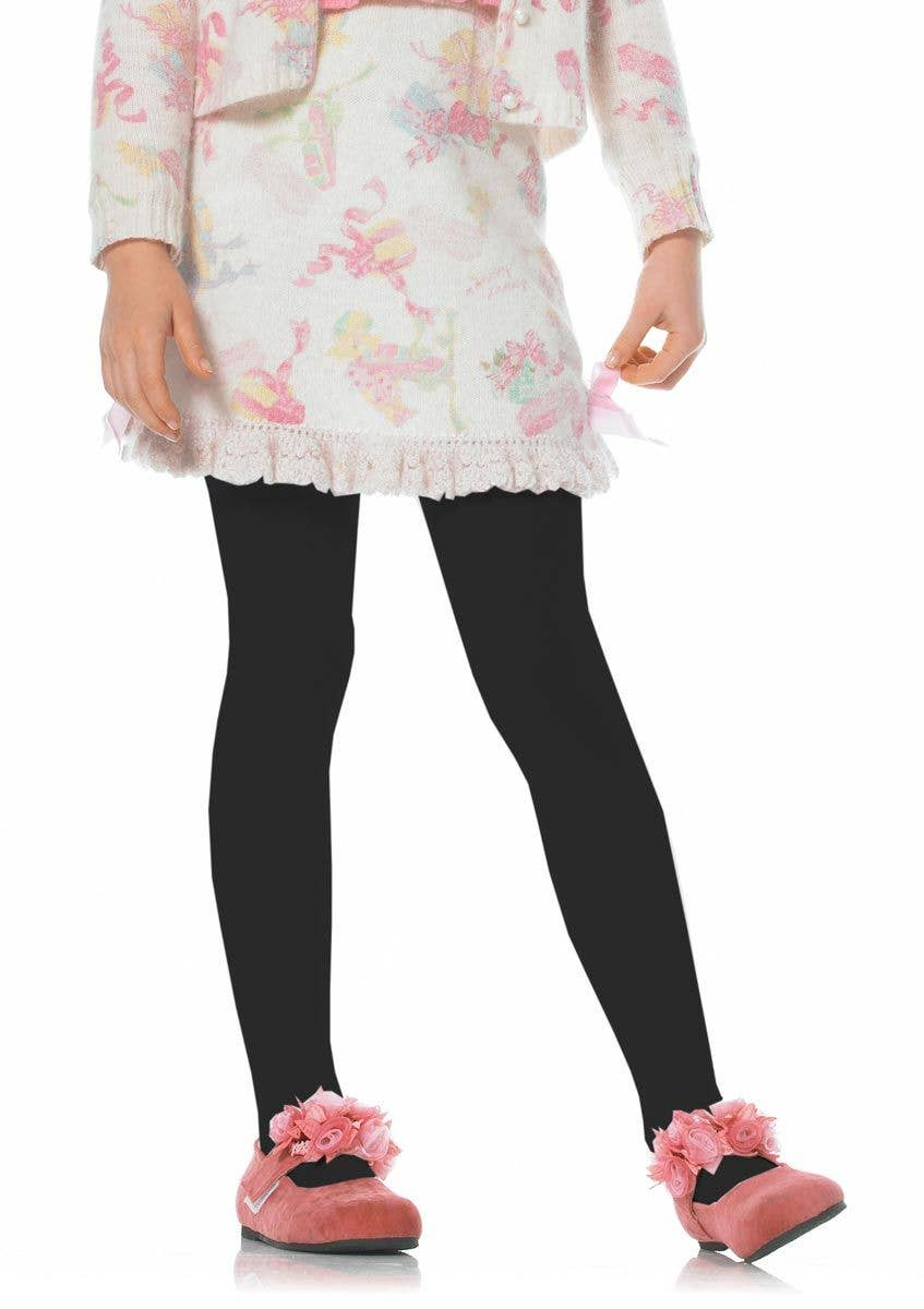 915468b92cb Children's Black Tights | Kid's Black Hosiery | Girl's Leggings