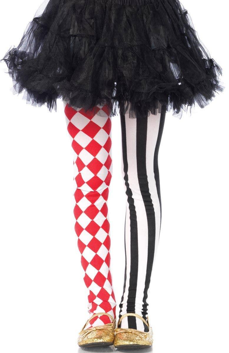 cbfd488434b8b Children's Harlequin Tights | Kid's Hosiery | Girls Leggings
