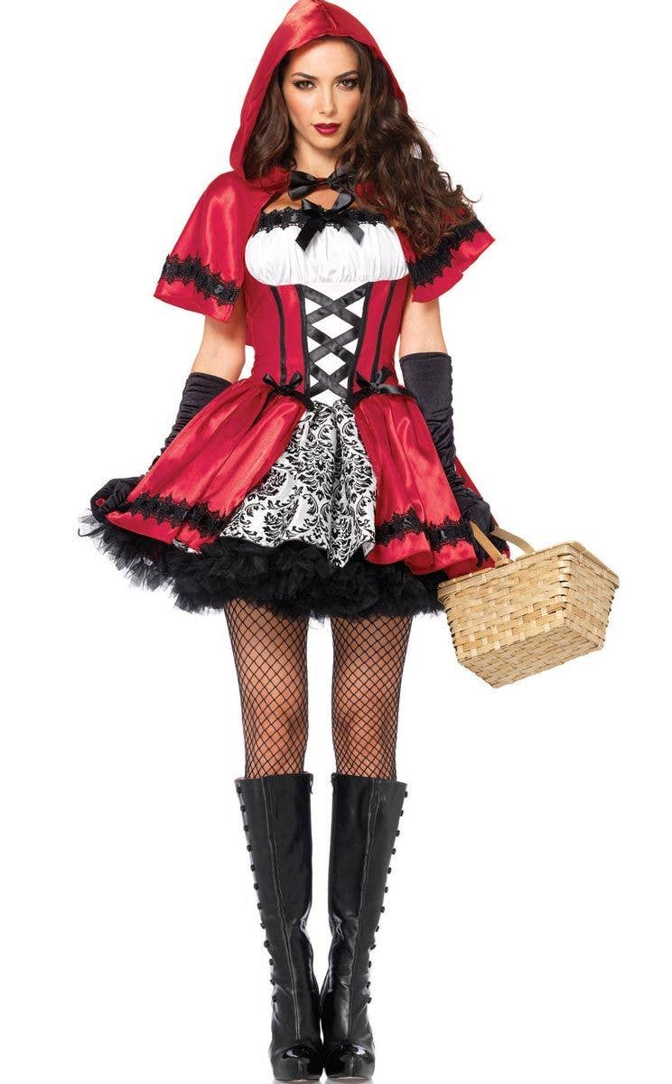 46710d7a9f5 Sexy Red Riding Hood Costume | Gothic Women's Little Red Costume