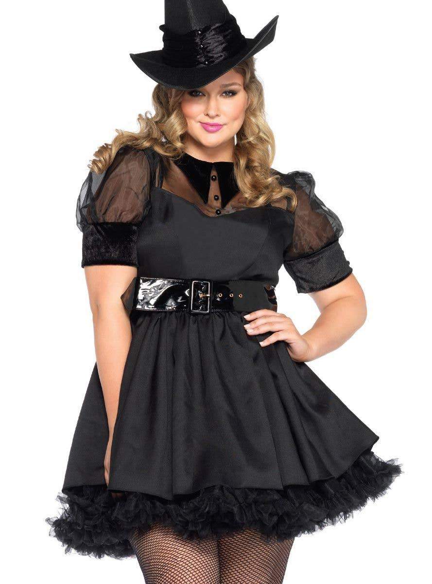 ab299517c7f Bewitching Black Magic Witch Women's Costume - Plus Size