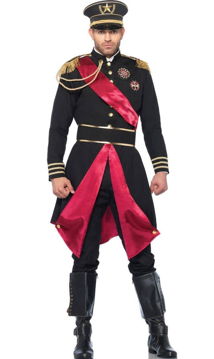 Russian Military General Menu0027s Fancy Dress Costume Front View  sc 1 st  Heaven Costumes & Menu0027s Russian Army Officer Costume | Menu0027s Military General Costume