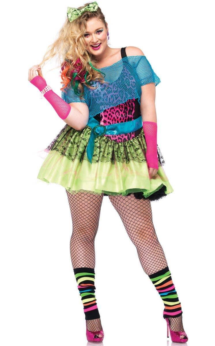 6435fc1504e10 Plus Size 80 s Sexy Women s Costume Main View