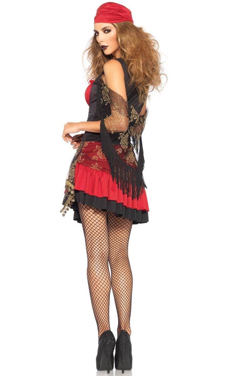 e1a85aecce Leg Avenue Sexy Gypsy Vixen Women s Costume Back Image