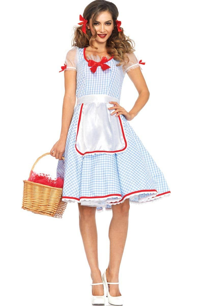 Deluxe Dorothy Wizard Of Oz Costume Womens Dorothy Sexy Costume