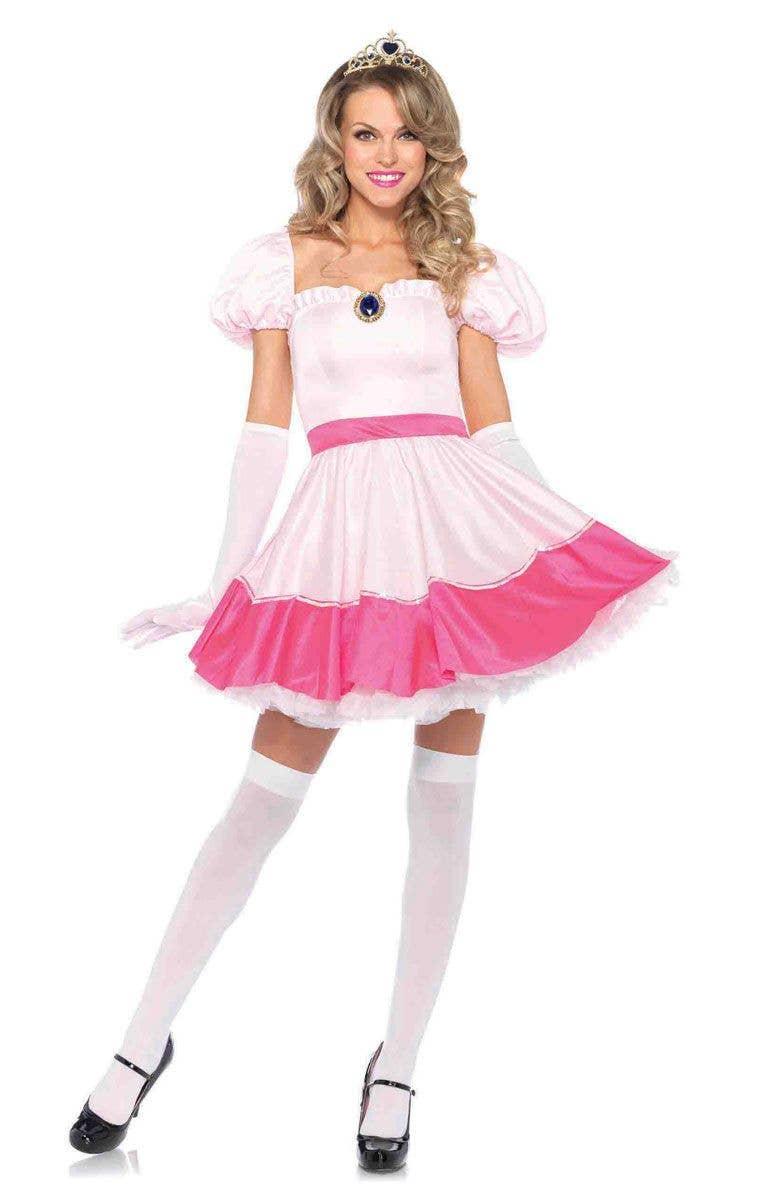 Sexy princess peach costumes