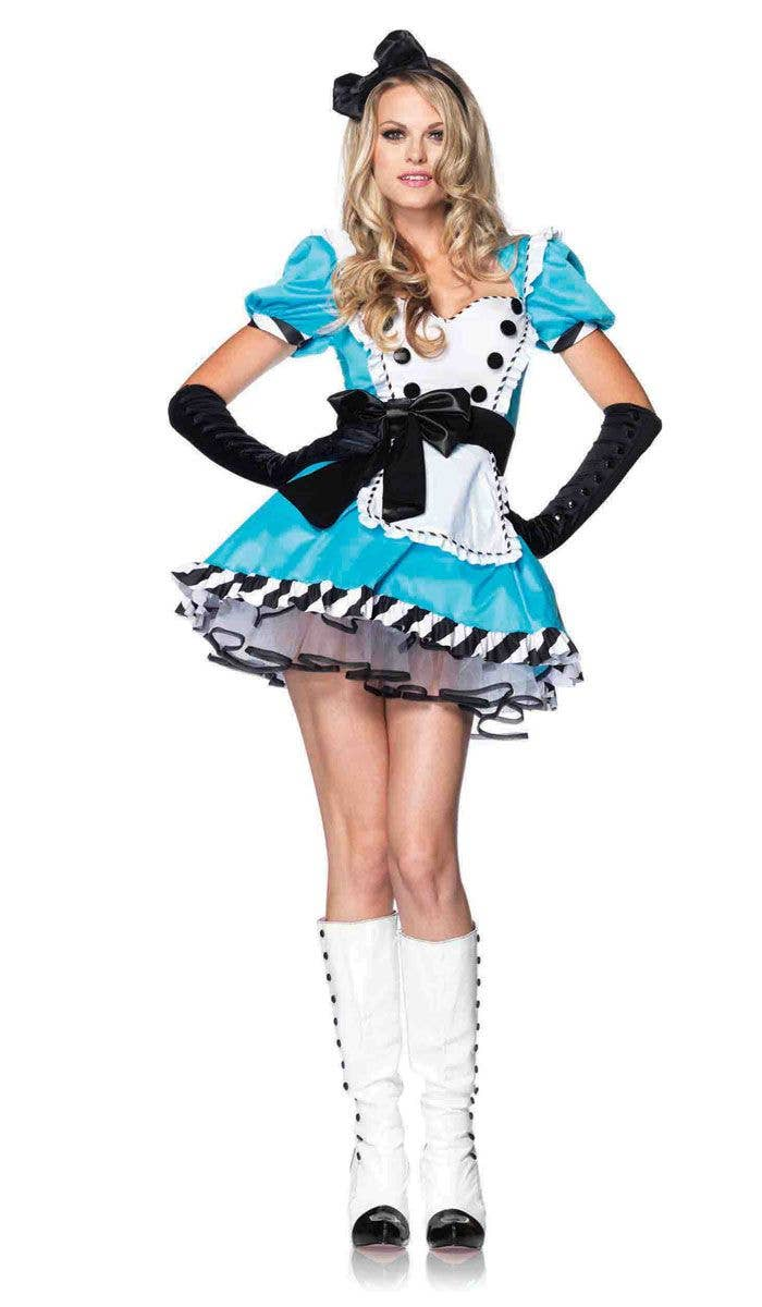 5b5cc27224 Sexy Alice in Wonderland Women s Costume Front Image