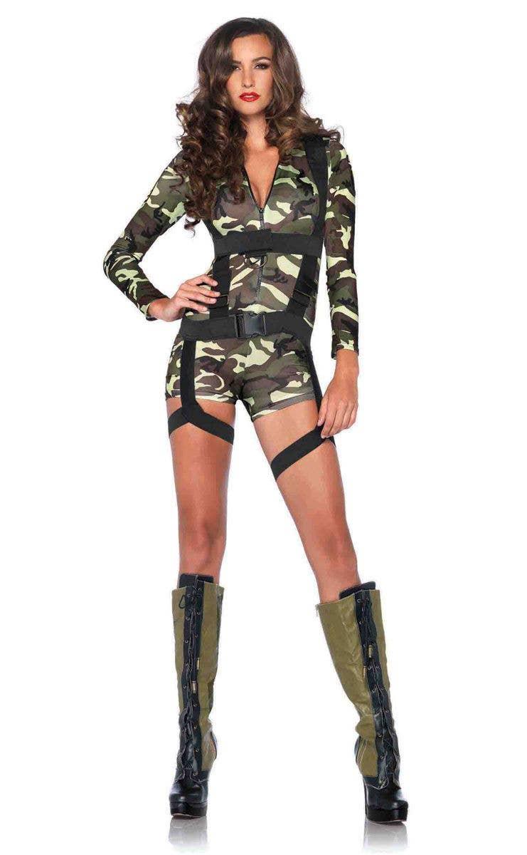 Sexy female army