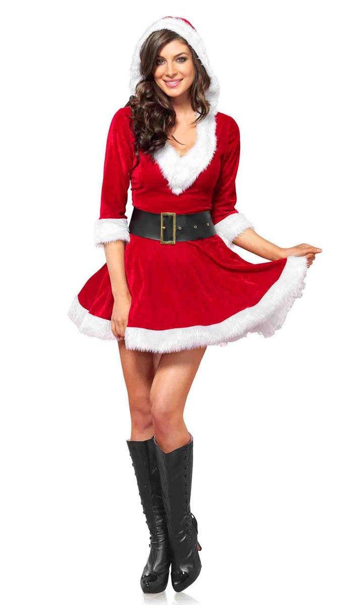 90f2fedc9b3 Women s Sexy Mrs. Claus Christmas Dress Up Alternate Image