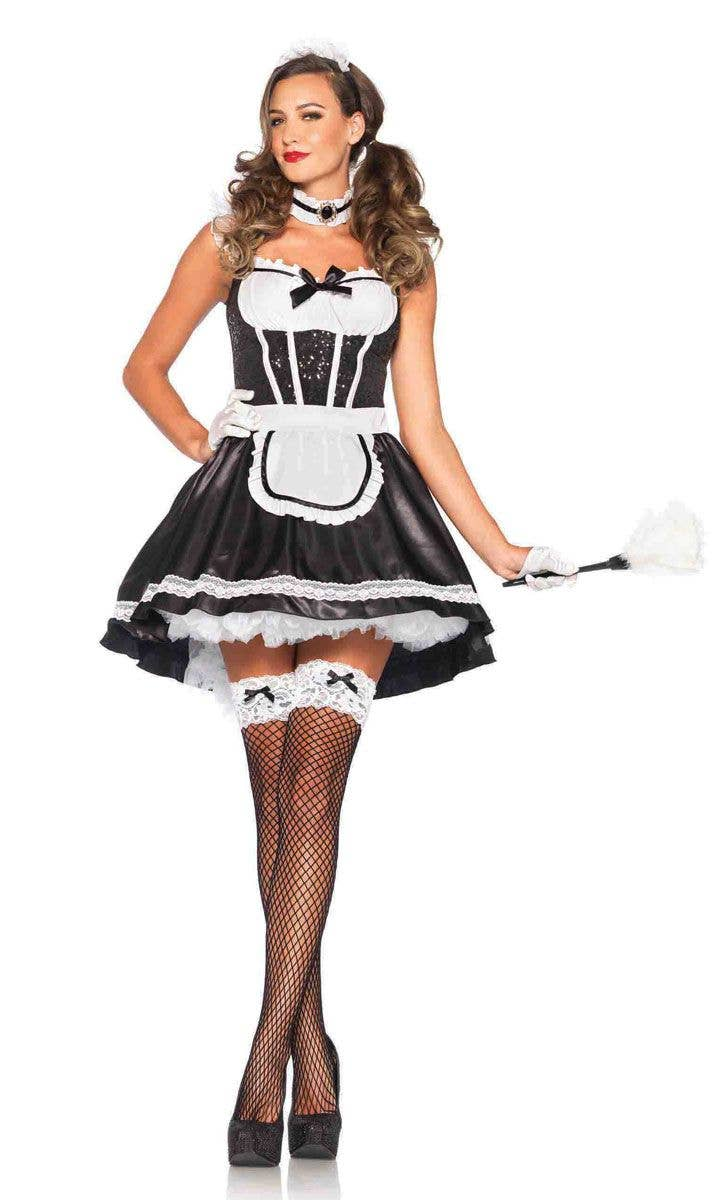 French Maid Sexy Women S Costume Women S Maid Fancy Dress