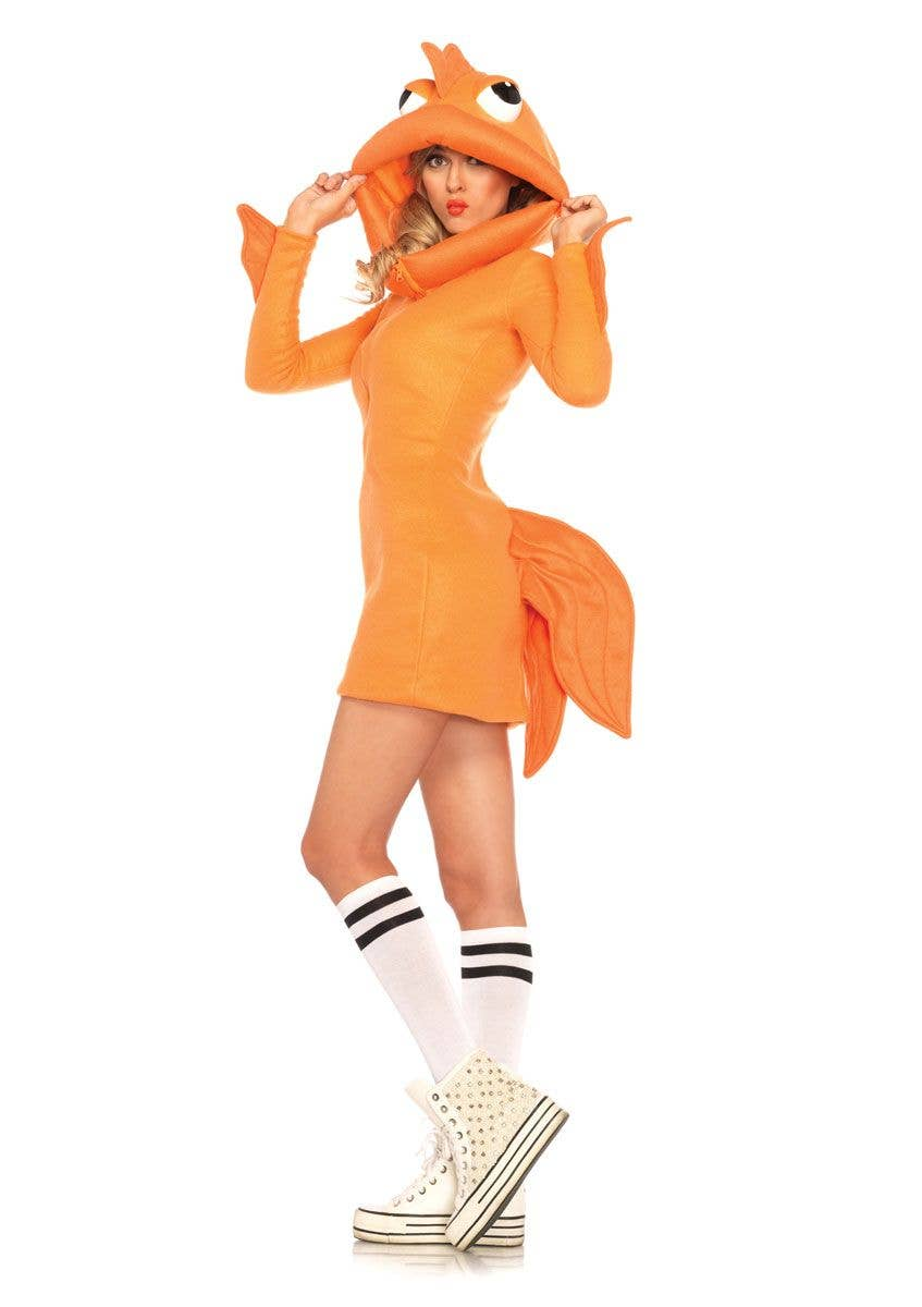 e5a0db78bd Goldfishn Sexy Women s Costume Alternative Image