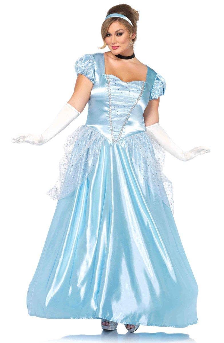Classic Cinderella Women\'s Deluxe Plus Size Costume